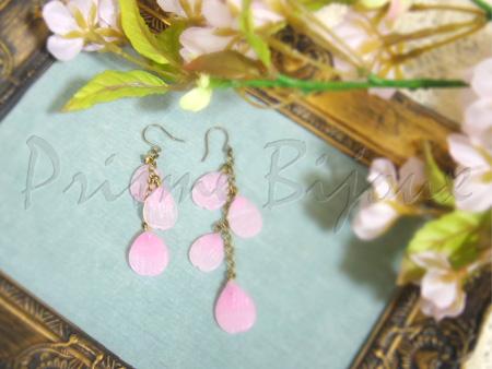 桜の花びらのイヤーピース