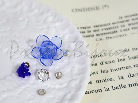 ネックレス「Ondine」センターヘッドの材料